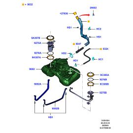 Насос топливный в сборе Ford Kuga 1 (2008-2013)