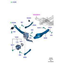 Рычаг задней подвески Ford Kuga 1 (2008-2013)