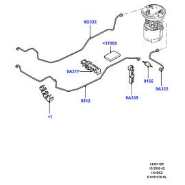 Фильтр топливный Ford Fiesta 5 (2001-2008)