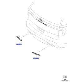 Фонарь противотуманный (ПТФ) Ford Explorer 5 (2011-н.в.)