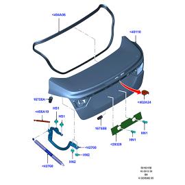 Крышка багажника Ford Focus 3 седан (2011-н.в.)