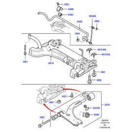 Рычаг передний левый Ford Fusion (2002-2012)