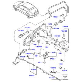 Насос омывателя Ford Mondeo 4 (2007-2015)