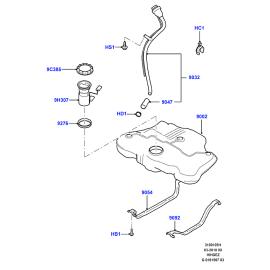 Насос топливный в сборе Ford Mondeo 4 (2007-2015)