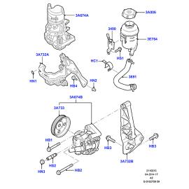 Насос ГУРа в сборе Ford Mondeo 4 (2007-2015)