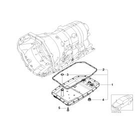 Картер масляный с фильтром АКПП BMW 7 F01 (2008-2015)