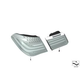 Фонарь левый наружний BMW 7 F01 (2012-2015)