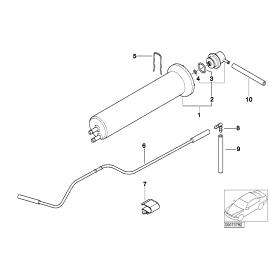 Фильтр топливный с регулятором давления BMW X5 E53 (1999-2006)