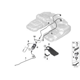 Фильтр топливный с регулятором давления BMW X5 E70 (2006-2014)