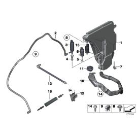 Насос омывателя BMW 5 F10 (2010-2016)