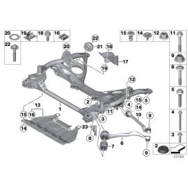 Гидроопора рычага переднего BMW 1 F20 (2011-2015)