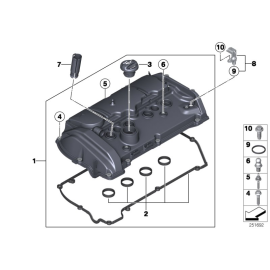 Прокладка крышки клапанов (N13) BMW 3 F30 (2012-н.в.)