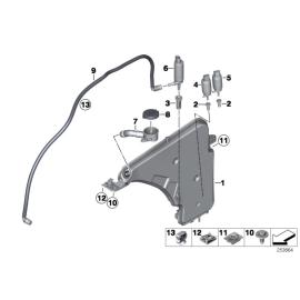Насос омывателя лобового стекла BMW 1 F20 (2011-2015)