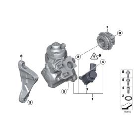 Насос топливный высокого давления (ТНВД) в сборе BMW 5 E60 (2003-2010)