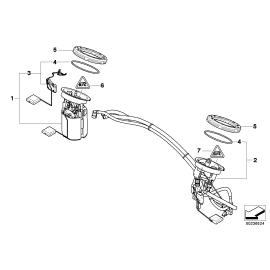 Фильтр топливный с регулятором давления BMW 1 E87 (2004-2011)