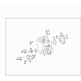 Насос топливный высокого давления, дизель (М642932) Mercedes S-klass W221 (2005-2013)