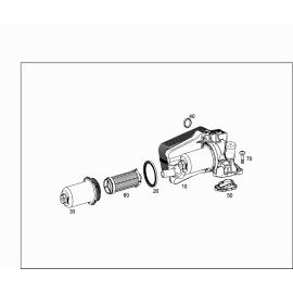 Фильтр АКПП в теплообменник Mercedes B-klass W246 (2011-н.в.)