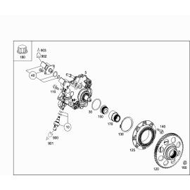 Топливный насос высокого давления (М 651930) Mercedes A-klass W176 (2013-н.в.)
